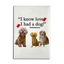 Funny Animal adoption quote Rectangle Magnet