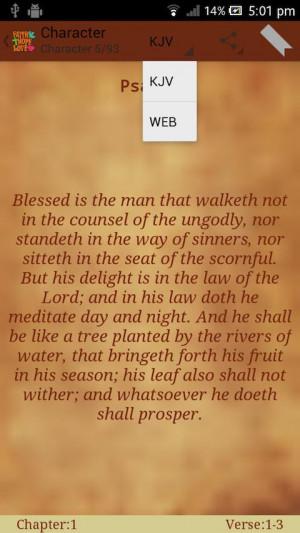 Holy Bible Quotes (Verses) 1.51 screenshot 3