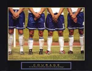 , inspirational quotes, quotations, courage - soccer players ...