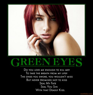 File Name : green-eyes-eyes-windows-soul-death-kiss-cubby ...
