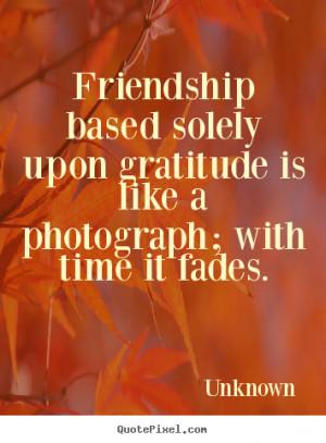 Gratitude Friendship Quotes