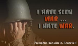 Franklin Roosevelt Quotes World War 2