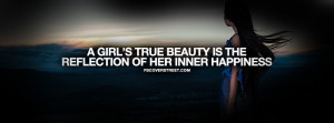 Inner Happiness Is Real Beauty Quote Picture