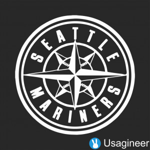 SEATTLE MARINERS MLB Sports VINYL DECAL STICKER