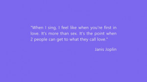 Janis Joplin Quotes screen shot 1