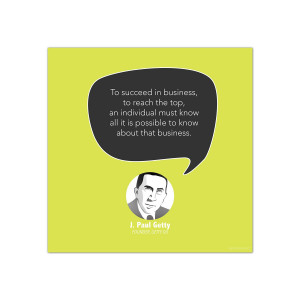 Reach the Top, J. Paul Getty - Startup Quote Poster (CG344044)
