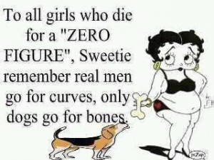 Real women have curves, and sometimes they don't