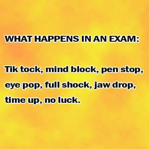 Funny Exam HD Pictures and exam related quotes