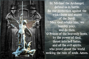 On Sunday April 24th 1994, Pope John Paul II recommended this prayer ...
