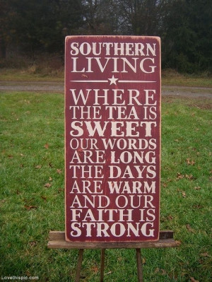 Wood Signs with Southern Sayings | Southern living quotes photography ...