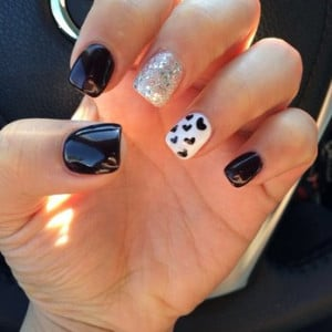 Ballerina Shaped Nails Nails done by anna