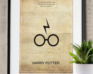 Harry Potter Memorable Quote Vintag e 11X17 Poster Print ...