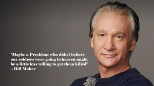Well said, Bill Maher...