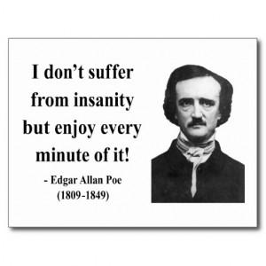Edgar Allen Poe Quote 6b Post Cards