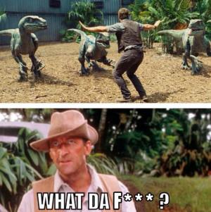 funny-Jurassic-World-trailer-velociraptor-tame