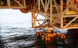 An offshore natural gas well blew out yesterday in the Gulf of Mexico ...