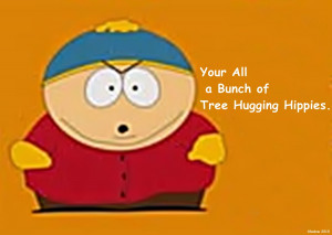 Cartman funny south park hippies HD Wallpaper