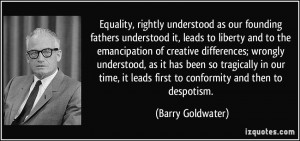 More Barry Goldwater Quotes