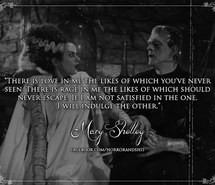 escape, quotes, Frankenstein, horror, love, mary shelley