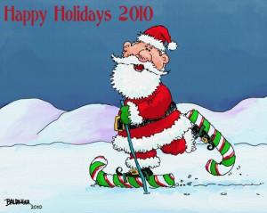 Cartoon Happy Holidays Medium Dbaldinger Tagged Santa Claus