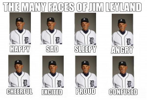 the many faces of jim harbaugh | The Many Faces Of Jim Leyland | MLB ...
