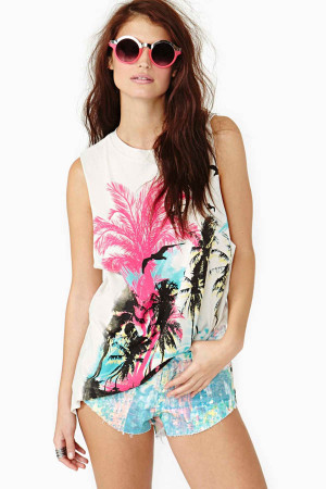chaser national geographic muscle tee for women