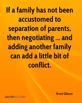 Quotes About Separation of Family