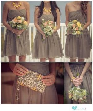 Bridesmaid, Short Bridesmaid Dresses, Shorts Bridesmaid ...