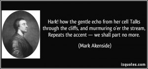 More Mark Akenside Quotes