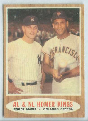 ... HOMER KINGS' [#a] with Orlando Cepeda/Roger Ma Baseball cards value