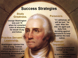 George Washington was a memorable character in America as he emerged ...