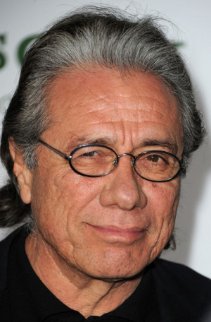 James Olmos Actor Edward James Olmos arrives at Columbia Pictures