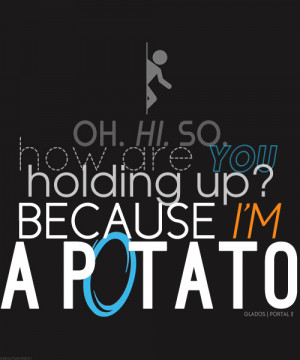 Showing Gallery For Funny Portal 2 Quotes