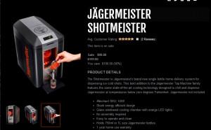 Jagermeister Shotmeister...