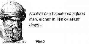 Famous quotes reflections aphorisms - Quotes About Death - No evil can ...