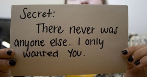 Secret Love Quotes