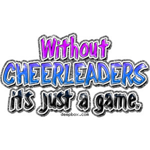 Quote Graphics Cute Cheerleading Cheerleader