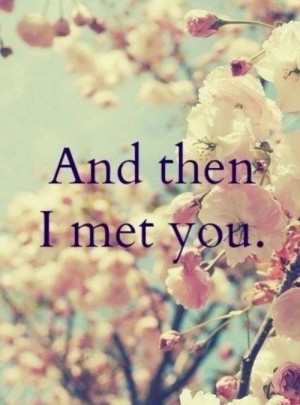flowers, her, him, love, meeting, quotes