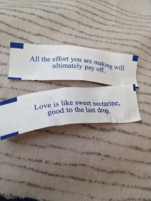 Inspirational Fortune Cookie
