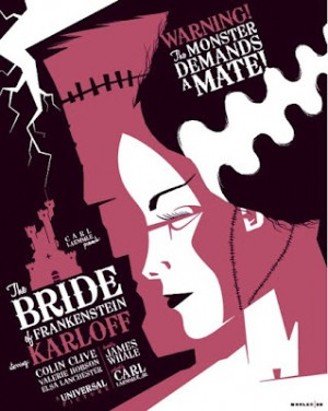 The Bride of Frankenstein.