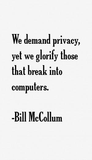 Bill McCollum Quotes & Sayings