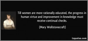 More Mary Wollstonecraft Quotes