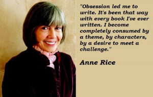Anne rice famous quotes 3