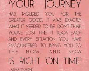 Your Journey right on time PRINT 1 0x10 (no frame included) CHOOSE ...