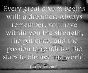 Harriet Tubman & #Change #Quote
