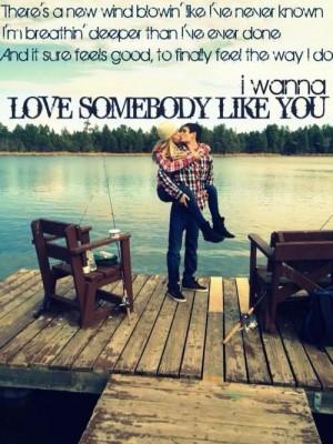 keith urban- somebody like you
