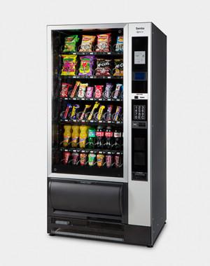 samba snack vending machine