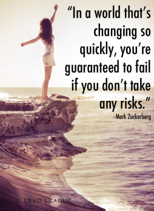 """... take any risks."""" – Mark Zuckerberg, from the Facebook IPO letter"""