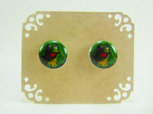 Kermit The Frog Quotes Kermit the frog stud post earrings by ...