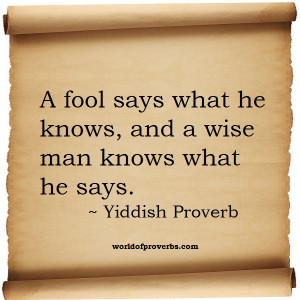 To see more Illustrated Proverbs click here.